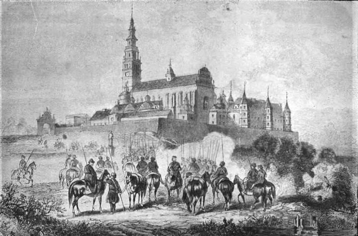 Polish_forces_in_Częstochowa_(January_Uprising)
