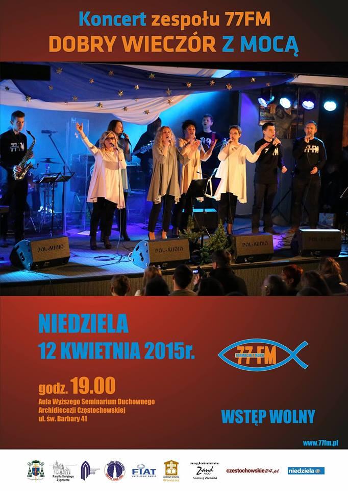 koncert zespolu 77FM