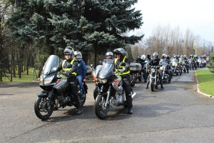 20 04 2015 Zawiercie Rozpoczęcie sezonu motocyklowego 1