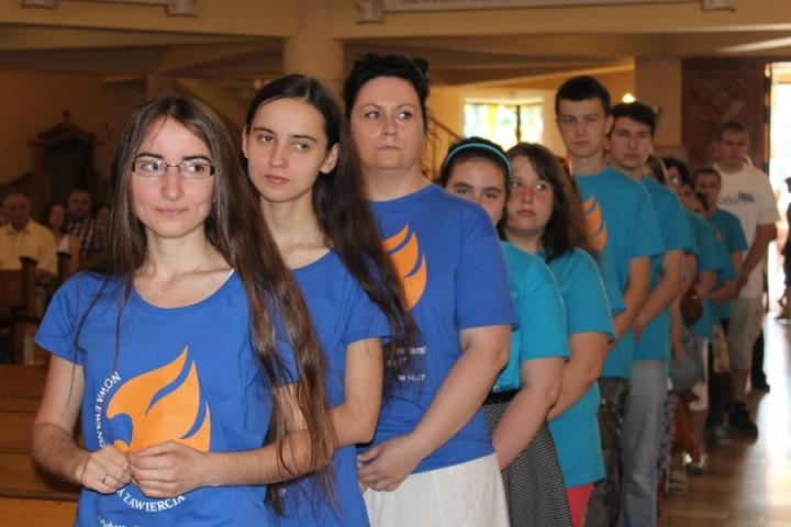 08 06 2015 Zawiercie Rozesłanie wolontariuszy NEZ 3