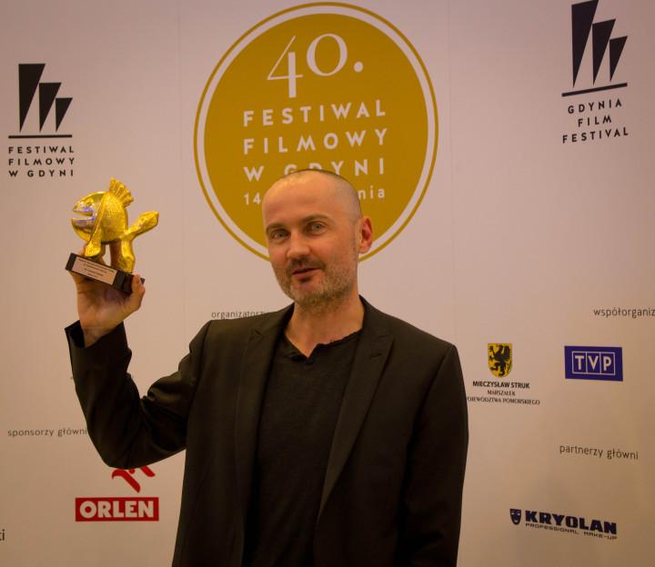 Krzysztof Pawłowski z nagroda