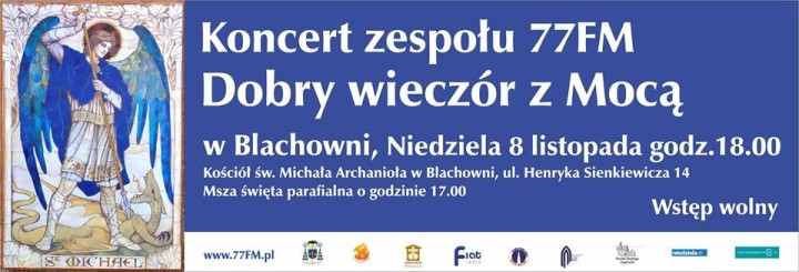 koncert 77 FM w Blachowni