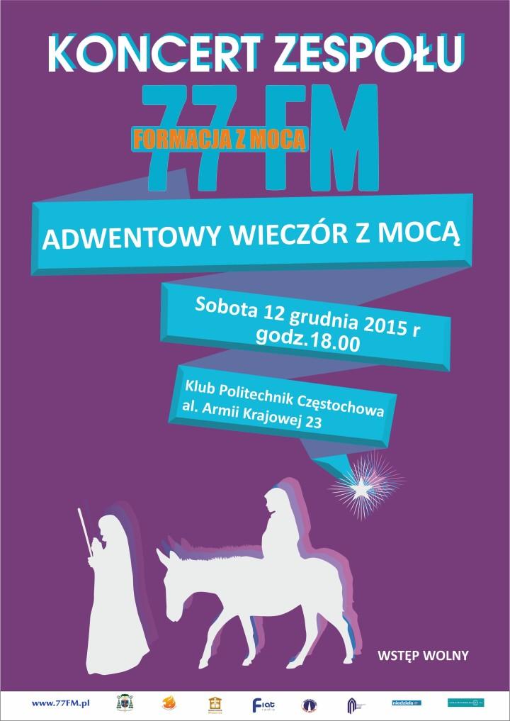 77FM plakat