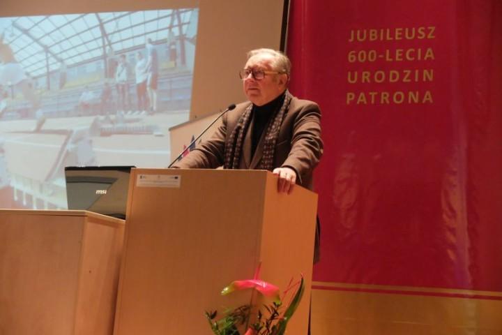 Krzysztof Zanussi w AJD glowne