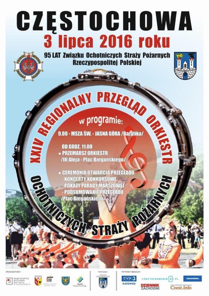 Plakat Orkiestry OSP-2