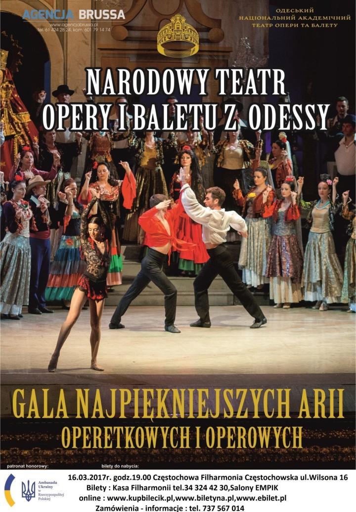 Operetka z Odessy Częstochowa