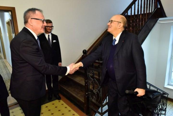 1 wizyta ambasadora Francji
