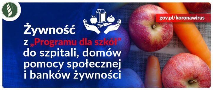Minister Ardanowski apeluje: Pomagajmy sobie wzajemnie