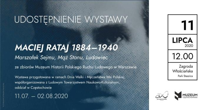 Wystawa o Macieju Rataju