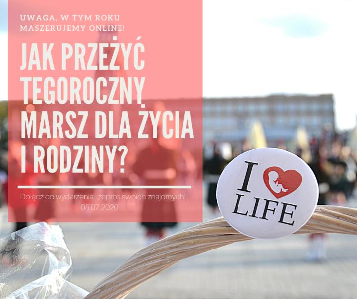 Marsz dla Życia online