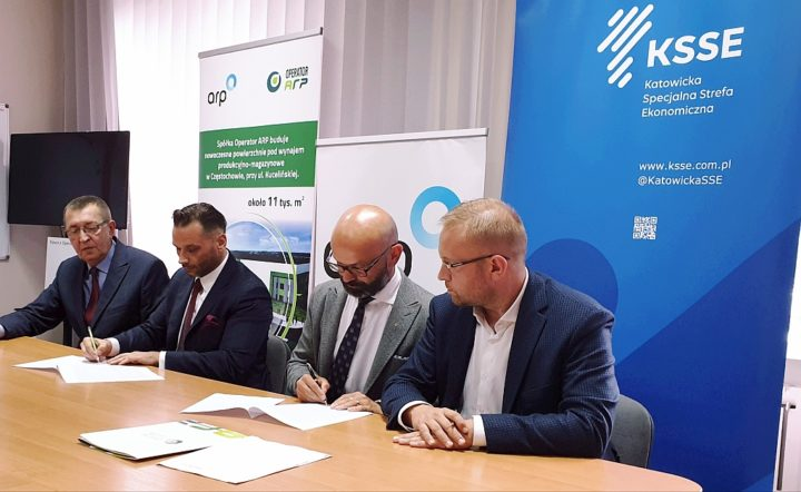 Operator ARP i Katowicka SSE z umową o współpracy na terenie Częstochowy