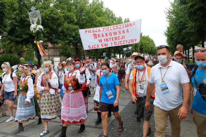Piesza Pielgrzymka Arch. Krakowskiej obchodziła jubileusz