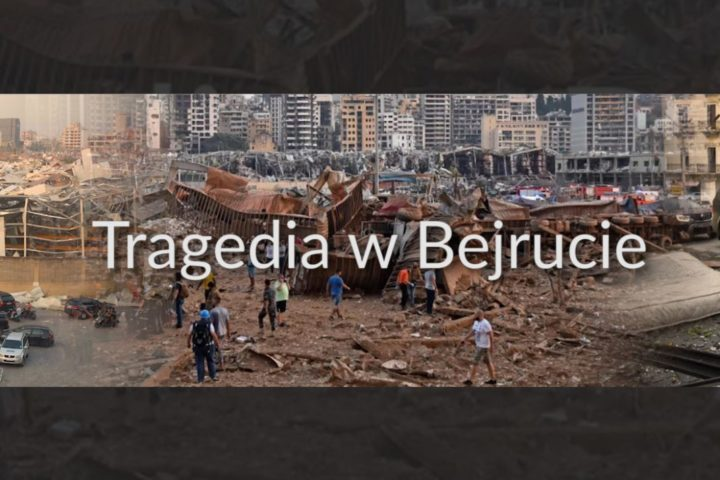 Tragedia w Bejrucie. Caritas Polska rusza z pomocą