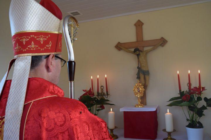 Krzętów: wprowadzenie relikwii św. Wojciecha. 19 września 2020