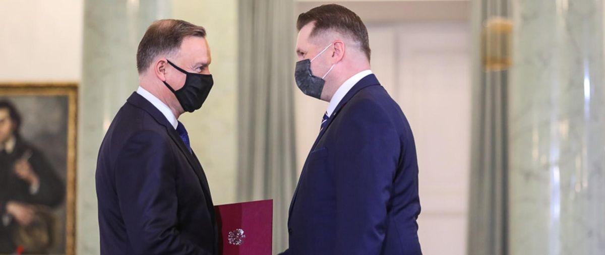 Przemysław Czarnek Ministrem Edukacji i Nauki