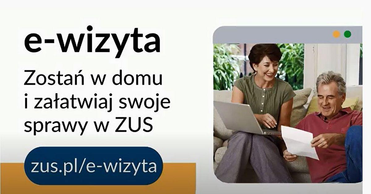 Umów się na wizytę online w ZUS
