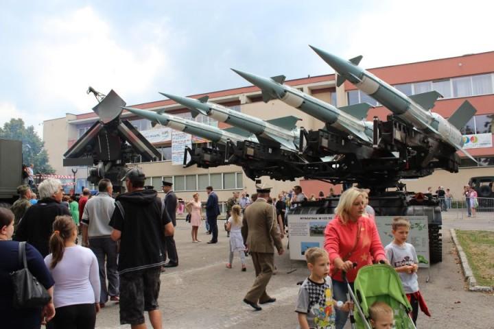22 08 2015 Zawiercie Święto Wojska Polskiego 1