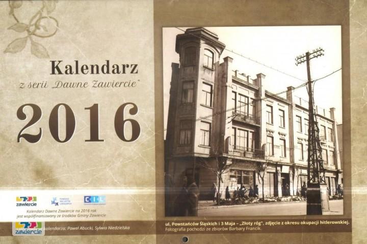 Kalendarz Dawne Zawiercie 2016