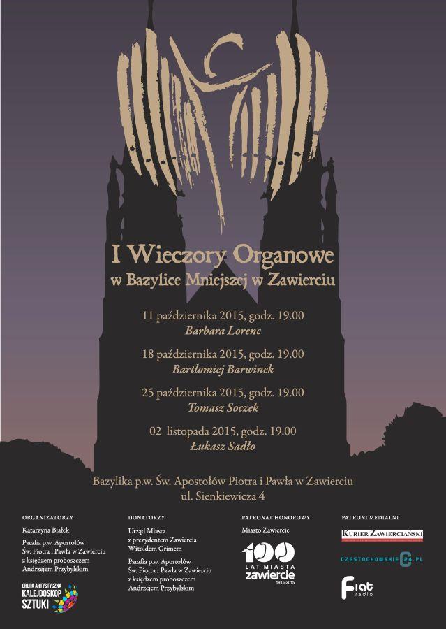 Wieczory Organowe w Bazylice Zawiercie