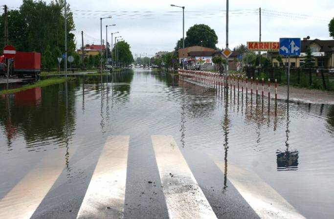 podtopienia powodzie
