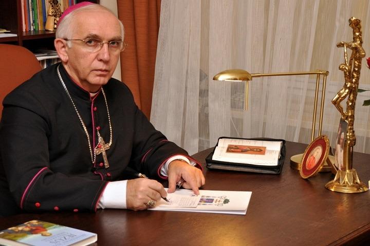 abp Wacław Depo, metropolita częstochowski/fot. Radio Fiat