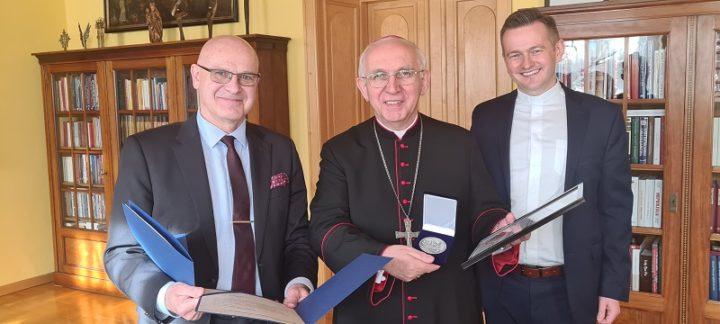 Spotkanie abp.Wacława Depo z przedstawicielami Uniwersytetu Technologiczno-Humanistycznego w Radomiu