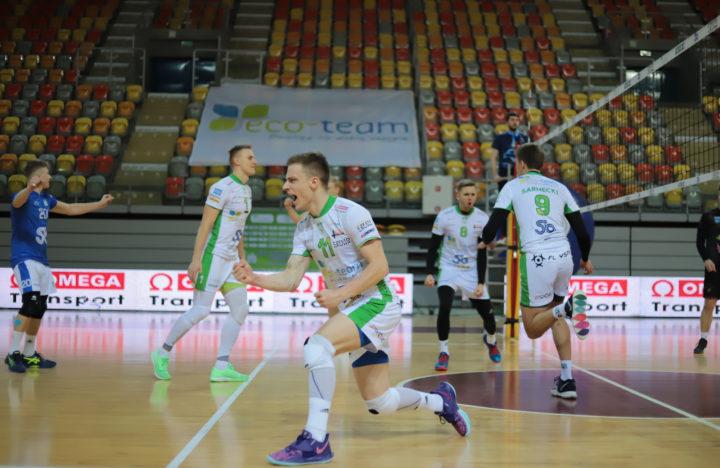 Siatkarze AZS-u wyszarpali zwycięstwo z TKS-em Tychy!