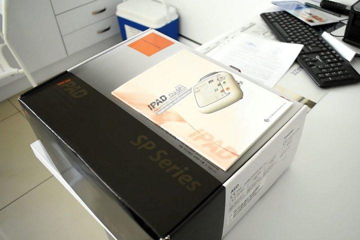 Defibrylator dla przychodni w Lubojnie