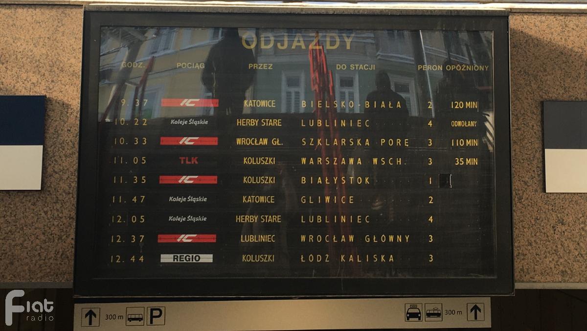 Opóźnione i odwołane pociągi – czy zima pokonała kolejarzy?