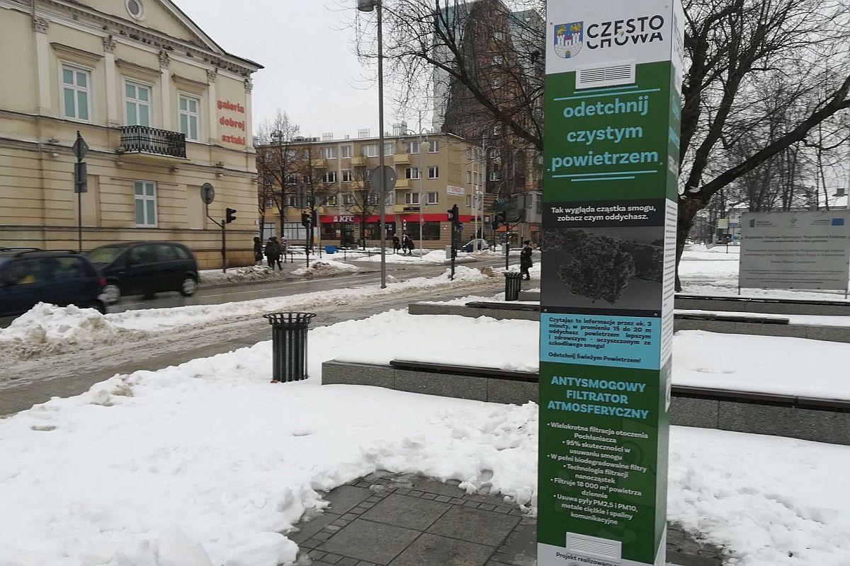 Filtrator antysmogowy w Częstochowie