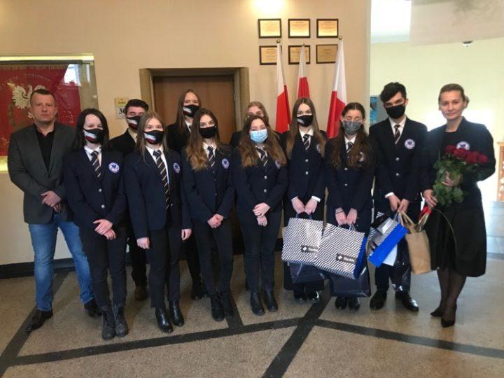 Młodzież województwa śląskiego w hołdzie Żołnierzom Niezłomnym