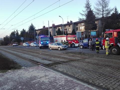 UWAGA! Wypadek przy ul. Jesiennej
