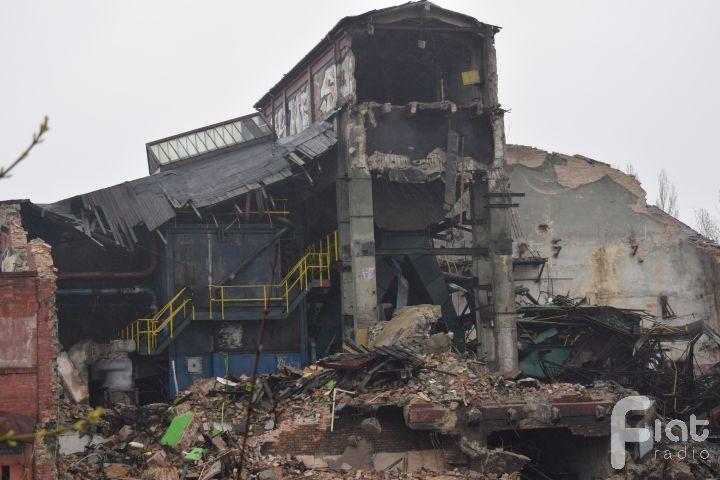 Nielegalna rozbiórka elektrowni na Zawodziu zatrzymana!