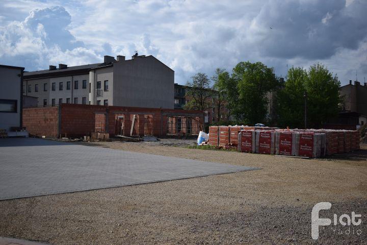 Jadłodajnia Caritas w budowie