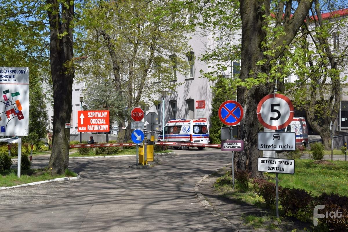 Praca częstochowskich szpitali w czasie epidemii