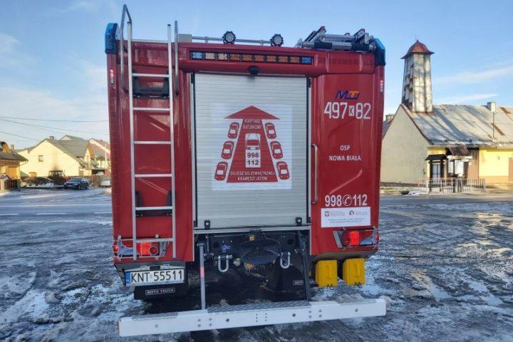 Fundusz wspiera strażaków