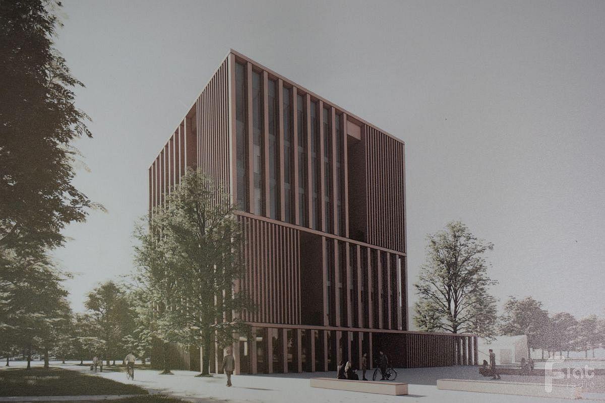 Uniwersytet zaprezentował koncepcję nowego budynku