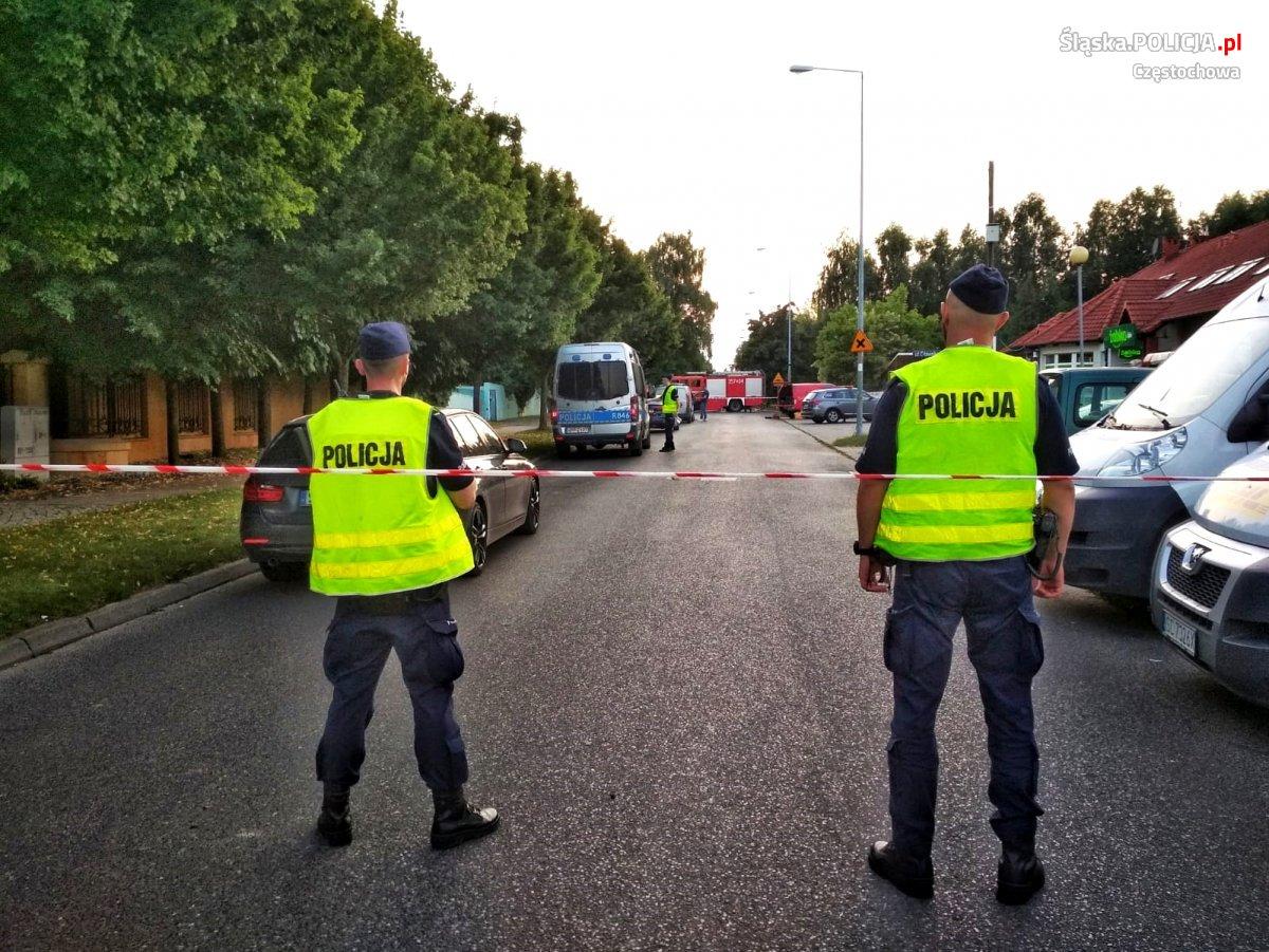 Wybuch butli z gazem zabił dwie osoby