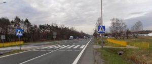 Bezpieczniej na przejściach dla pieszych w siedmiu miejscowościach w woj. śląskim