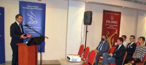 Konferencja naukowa Szkoły Wyższej Wymiaru Sprawiedliwości z udziałem wiceministra Marcina Romanowskiego