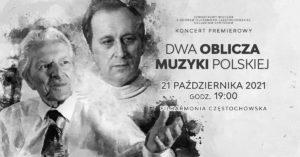 Dwa oblicza muzyki polskiej
